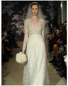 76baf3b7d4a Свадебные платья из коллекции Carolina Herrera